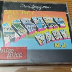 """CDs de Música: CD DE BRUCE SPRINGSTEEN """"GRETTINGS FROM ASBURY PARK N.J."""". Lote 288093303"""