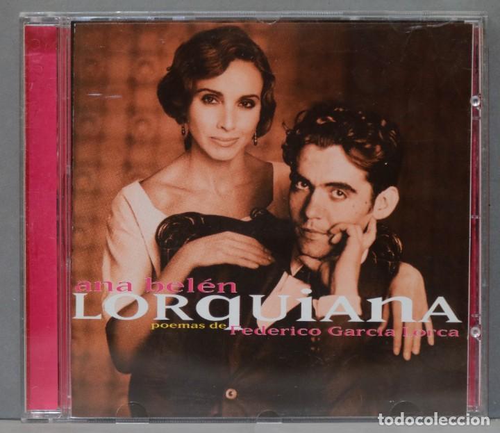 "CD. ANA BELÉN ""LORQUIANA"". CANCIONES POPULARES DE FEDERICO GARCÍA LORCA. (Música - CD's Melódica )"