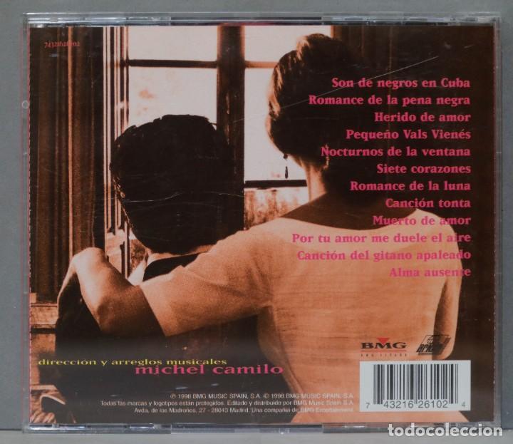 "CDs de Música: CD. ANA BELÉN ""LORQUIANA"". CANCIONES POPULARES DE FEDERICO GARCÍA LORCA. - Foto 2 - 288093883"