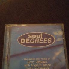 CDs de Música: SOUL DEGREES. VARIOS ARTISTAS. EDICIÓN DE 1999. RARA. FUNKY Y SOUL. Lote 288098913