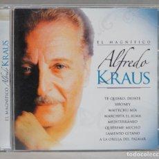 CDs de Música: CD. EL MAGNIFICO ALFREDO KRAUS. Lote 288099313