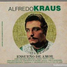 CDs de Música: CD. ALFREDO KRAUS. ENSUEÑO DE AMOR. Lote 288099378