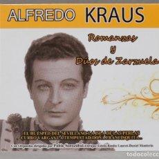 CDs de Música: CD. ROMANZAS Y DUOS DE ZARZUELAS. ALFREDO KRAUS. Lote 288099408