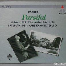 CDs de Música: 4 CD. WAGNER. PARSIFAL. BAYREUTH 1951. Lote 288099943