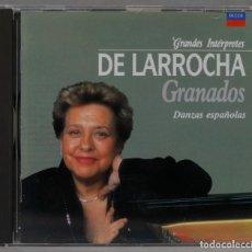 CDs de Música: CD. ALICIA DE LARROCHA. GRANADOS. DANZAS ESPAÑOLAS. Lote 288099988