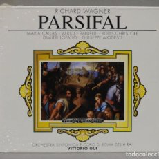 CDs de Música: 3 CD. GUI. PARSIFAL. WAGNER. Lote 288100013
