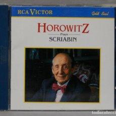 CDs de Música: CD. HOROWITZ PLAYS SCRIABIN. Lote 288100198