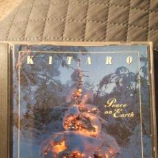 """CDs de Música: CD KITARO """" PEACE ON EARTH """" EDICIÓN USA. Lote 288112638"""