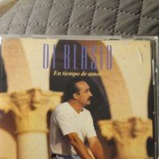 """CDs de Música: CD DI BLASIO """" EN TIEMPO DE AMOR """". Lote 288114258"""