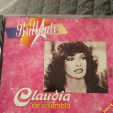 CDs de Música: CD CLAUDIA DE COLOMBIA BRILLANTES. Lote 288114378