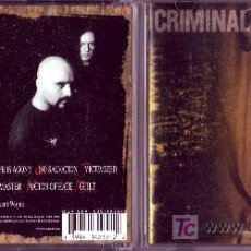 CDs de Música: CRIMINAL CD ORIGINAL DEAD SOUL METALBLADE BMG 1997. Lote 288127208