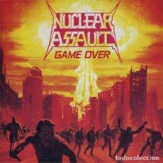CDs de Música: NUCLEAR ASSAULT - GAME OVER / THE PLAGUE CD 1989 - METAL 2 EL LP Y EL MLP EN UN MISMO CD. Lote 288129738