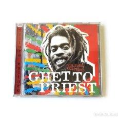 CDs de Música: GHETTO PRIEST - VULTURE CULTURE. Lote 288142333