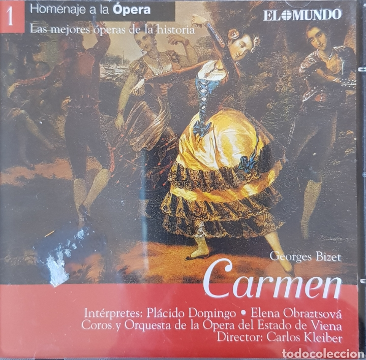 GEORGES BIZET CARMEN (Música - CD's Clásica, Ópera, Zarzuela y Marchas)