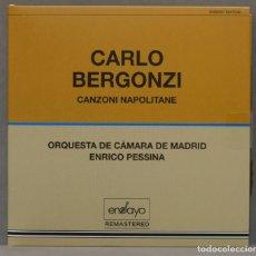 CDs de Música: CD. CANZONI NAPOLITANE. BERGONZI. Lote 288148003