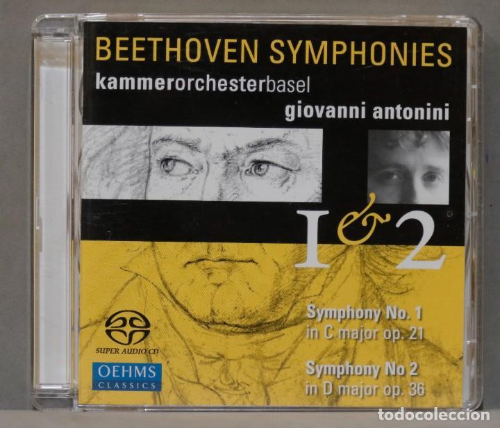 CD. BEETHOVEN. ANTONINI. 1. 2 (Música - CD's Clásica, Ópera, Zarzuela y Marchas)
