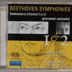 CDs de Música: CD. BEETHOVEN. ANTONINI. 1. 2. Lote 288148368