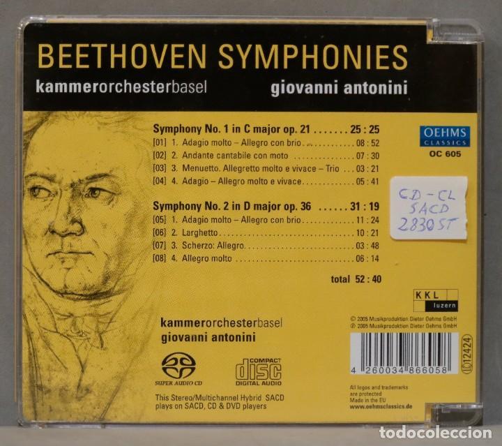 CDs de Música: CD. BEETHOVEN. ANTONINI. 1. 2 - Foto 2 - 288148368