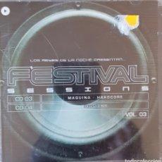 CDs de Música: FESTIVAL SESSIONS VOL. 3 (SOLO SON LOS CDS 3 Y 4). Lote 288148498
