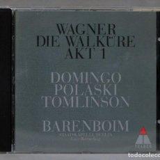 CDs de Música: CD. DIE WALKÜRE AKT 1. WAGNER. BARENBOIM. Lote 288149258