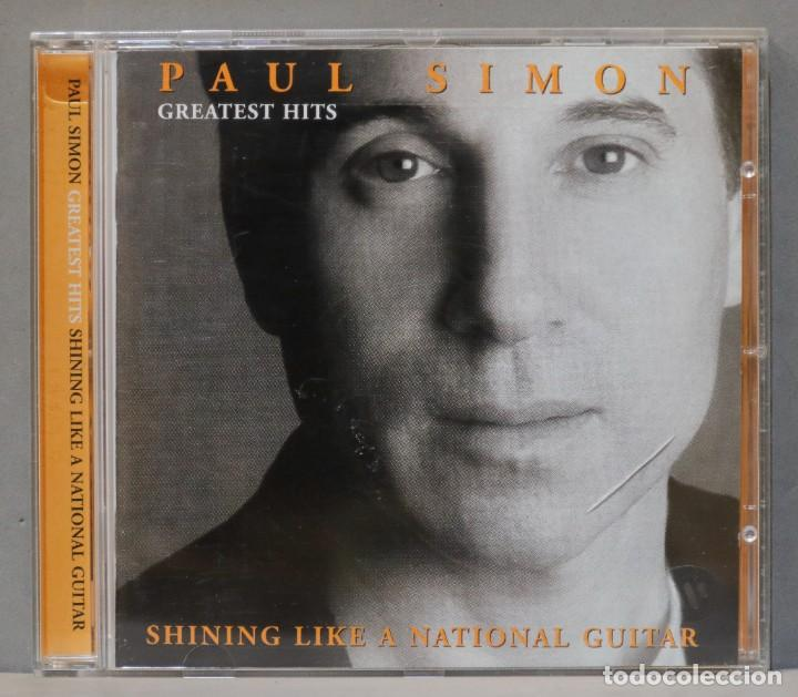 CD. PAUL SIMON. GREATEST HITS. SHINING LIKE A NATIONAL GUITAR (Música - CD's Rock)