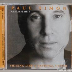 CDs de Música: CD. PAUL SIMON. GREATEST HITS. SHINING LIKE A NATIONAL GUITAR. Lote 288149983