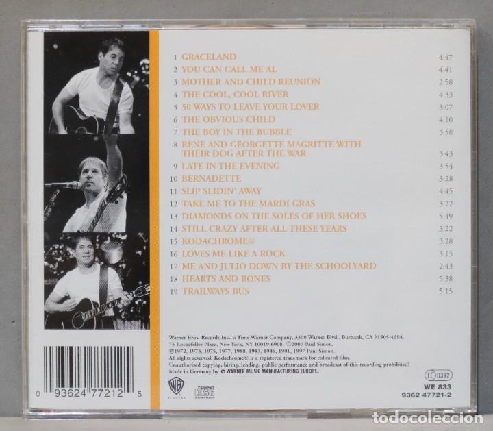CDs de Música: CD. Paul Simon. Greatest Hits. Shining Like A National Guitar - Foto 2 - 288149983