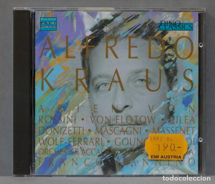CD. ALFREDO KRAUS. FRANCO MANINNO (Música - CD's Clásica, Ópera, Zarzuela y Marchas)