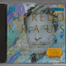 CDs de Música: CD. ALFREDO KRAUS. FRANCO MANINNO. Lote 288150303