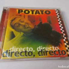 CDs de Música: POTATO DIRECTO, DIRECTO. Lote 288150603