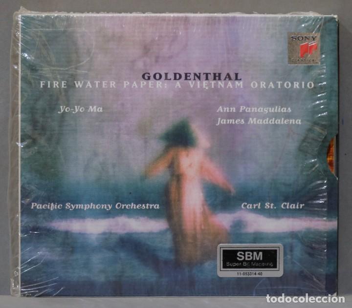 CD. GOLDENTHAL. FIRE WATER PAPER (Música - CD's Clásica, Ópera, Zarzuela y Marchas)