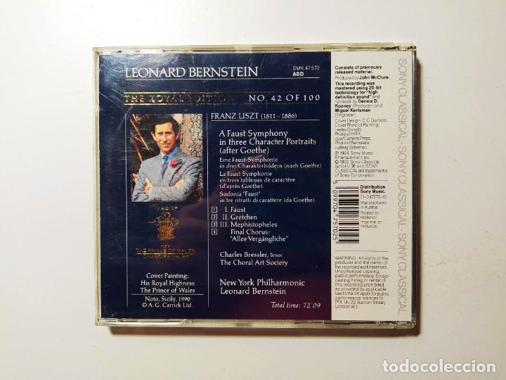CDs de Música: The royal edition. Leonard Bernstein. Liszt. Charles Bressler. New York Philharmonic. CD. TDKCD58 - Foto 2 - 288150843