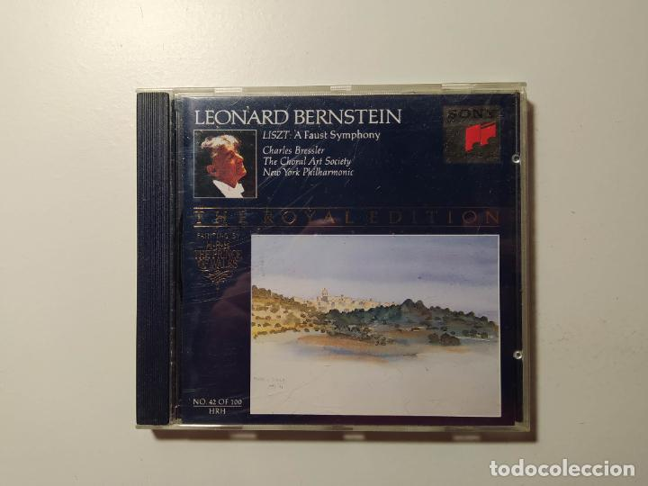 THE ROYAL EDITION. LEONARD BERNSTEIN. LISZT. CHARLES BRESSLER. NEW YORK PHILHARMONIC. CD. TDKCD58 (Música - CD's Clásica, Ópera, Zarzuela y Marchas)
