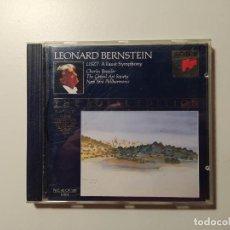 CDs de Música: THE ROYAL EDITION. LEONARD BERNSTEIN. LISZT. CHARLES BRESSLER. NEW YORK PHILHARMONIC. CD. TDKCD58. Lote 288150843