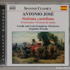 CDs de Música: CD. ANTONIO JOSE. SINFONIA CASTELLANA. Lote 288150943