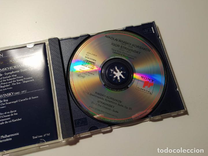 CDs de Música: The royal edition. Leonard Bernstein. Rimsky Korsakov. Stravinsky New York Philharmonic. CD. TDKCD58 - Foto 2 - 288151028