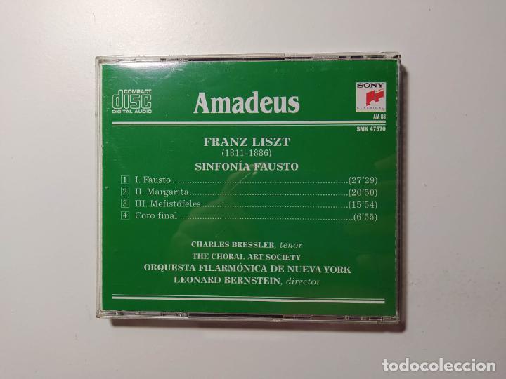 CDs de Música: The royal edition. Leonard Bernstein. Liszt. A Faust Symphony. New York Philharmonic. CD. TDKCD58 - Foto 3 - 288151158