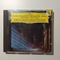 CDs de Música: GABRIEL FAURE / PELLÉAS ET MELISANDE. BOSTON SYMPHONY. SEIJI OZAWA . DEUTSCHE GRAMMOPHON CD TDKCD58. Lote 288151733