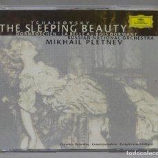 CDs de Música: CD. TCHAIKOVSKY. RUSSIAN NATIONAL ORCHESTRA. MIKHAIL PLETNEV. THE SLEEPING BEAUTY. Lote 288151968