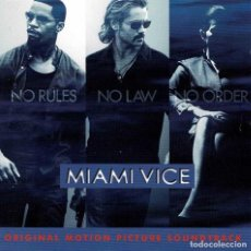 CDs de Música: MIAMI VICE - ORIGINAL MOTION PICTURE SOUNDTRACK. CD. Lote 288153768