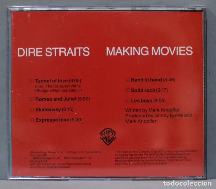 CDs de Música: CD. Dire Straits. Making Movies - Foto 2 - 288154043