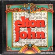 """CDs de Música: ELTON JOHN / COLECCION """"LOS 60 DE LOS 60"""" / MUY BUEN ESTADO RF-10623. Lote 288154883"""