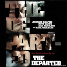 CDs de Música: THE DEPARTED. MUSIC FROM THE MOTION PICTURE. CD. Lote 288155223
