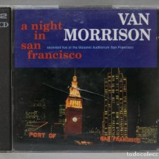 CDs de Música: 2 CD. VAN MORRISON. A NIGHT IN SAN FRANCISCO. Lote 288155943