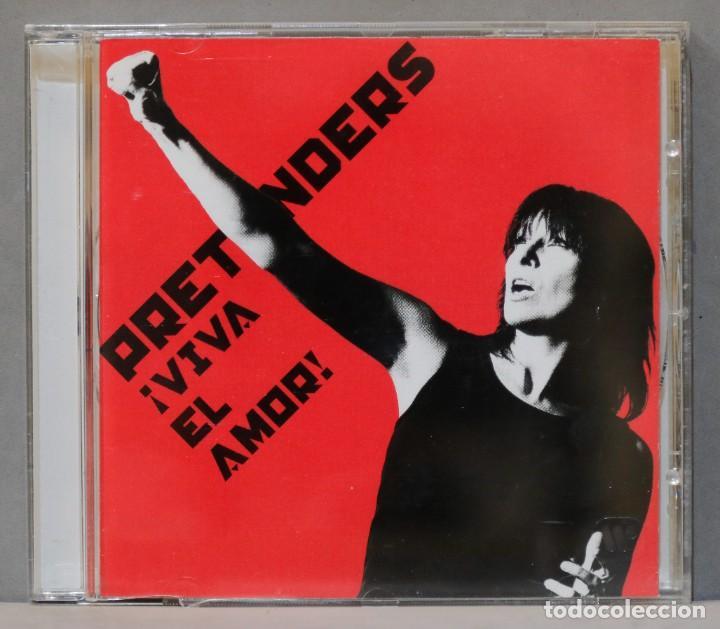 CD. PRETENDERS. ¡VIVA EL AMOR! (Música - CD's Rock)