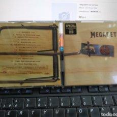 CDs de Música: MEGADETH DOBLE CD RISK EDICIÓN ESPECIAL 1999. Lote 288156418