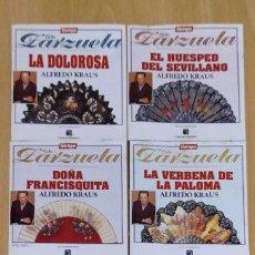 CDs de Música: LOTE 5 CD'S TIEMPO DE ZARZUELA (ALFREDO KRAUS). Lote 288161563