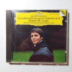 CDs de Música: SCHUMANN. FRAUENLIEBE UND LEBEN. OP 42 LÍEDERKREIS OP 24. IRWIN GAGE. DEUTSCHE GRAMMOPHON CD TDKCD57. Lote 288161688