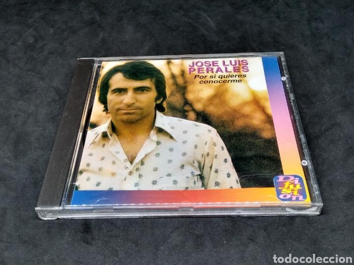 JOSE LUIS PERALES - POR SI QUIERES CONOCERME - CD - 1995 - DIFUSION - DISCO COMPROBADO (Música - CD's Pop)