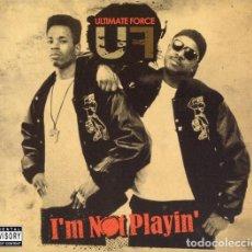 CD de Música: ULTIMATE FORCE – I'M NOT PLAYIN' 2 CDS NUEVO Y PRECINTADO. Lote 288161993